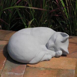 Classic Sleeping Cat Statue