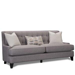 Carson Wingback Sofa by Laurel Foundry Modern Farmhouse