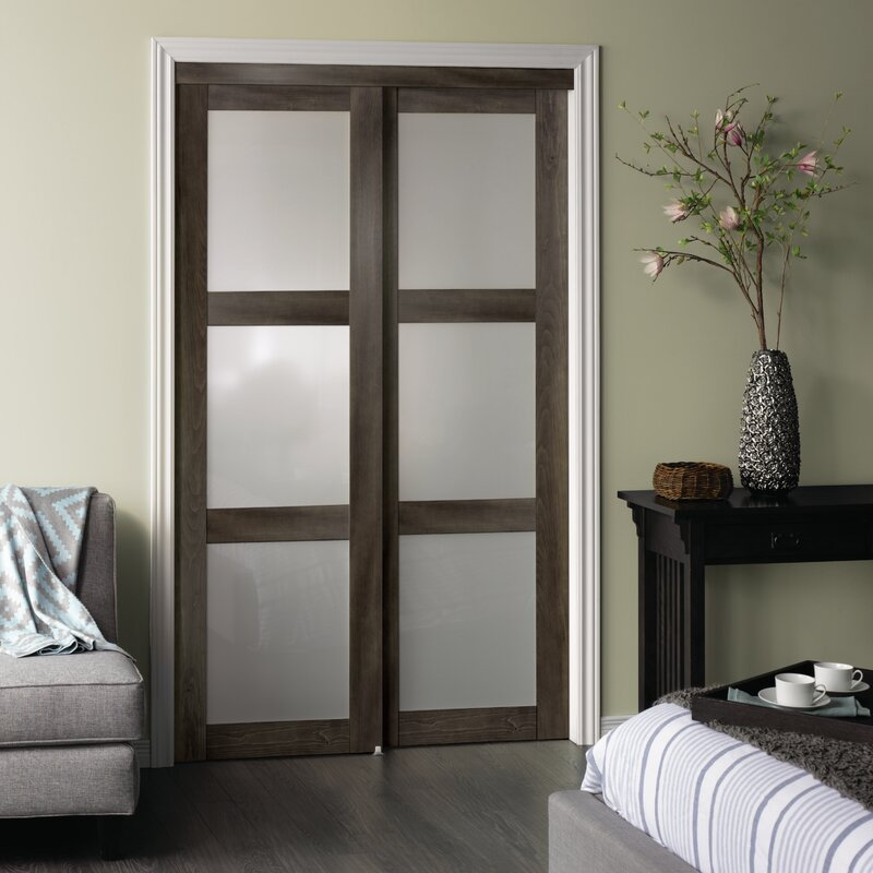Ordinaire Glass Sliding Closet Doors