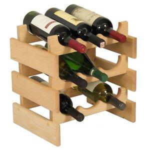 Dakota 9 Bottle Tabletop Wine Rack