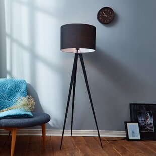 Black shade floor lamps youll love wayfair save to idea board mozeypictures Images