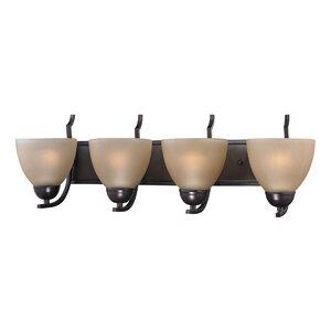 Ellerbee Traditional 4-Light Vanity Light