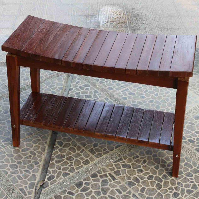 Decoteak Sojourn Asia Furniture Contemporary Teak Asia Shower Seat ...