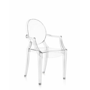 modern contemporary clear acrylic ghost chairs allmodern