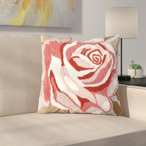 Dusty Rose Throw Pillow   Wayfair