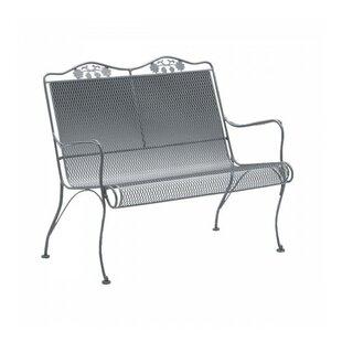 white wrought iron garden furniture. Briarwood Wrought Iron Garden Bench White Furniture B