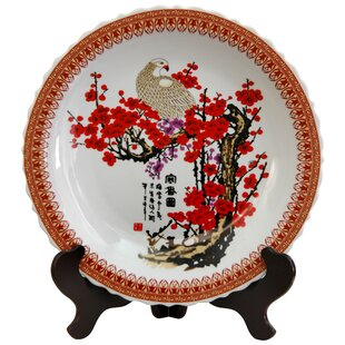Cherry Blossom Decorative Large Plate in White  sc 1 st  Wayfair & Extra Large Decorative Plates | Wayfair