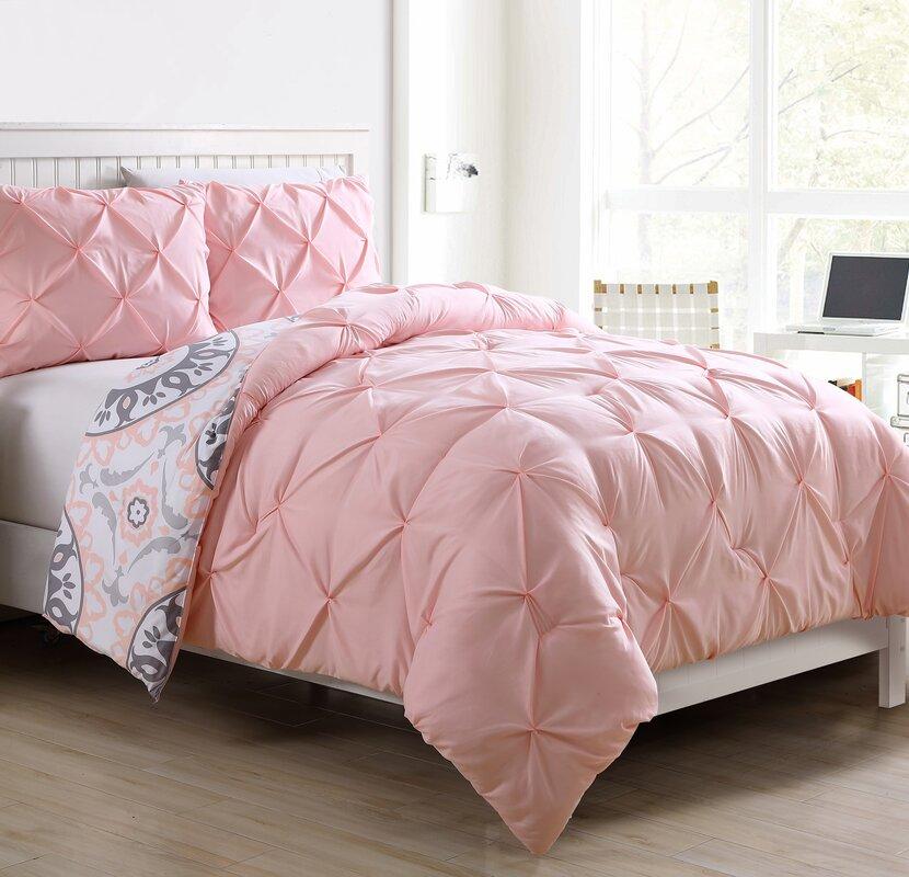 Roslyn Bedroom Furniture Set: Viv + Rae Roslyn 2 Piece Twin/Twin XL Reversible Comforter