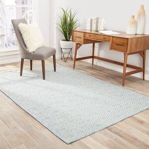 Heise Blue/Beige Indoor/Outdoor Area Rug