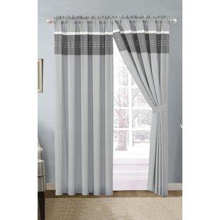 Suniga Striped Curtain Panels (Set Of 2)