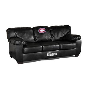 NHL Classic Leather Sofa by Imperial