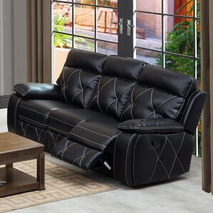 Buchanan Reclining Sofa by Red Barrel ..