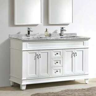Bryton 59 Double Bathroom Vanity Set