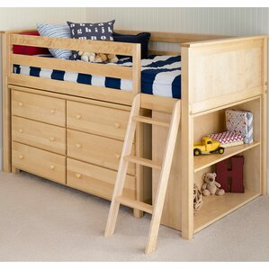 Twin Loft Configurable Bedroom Set by Jackpot!