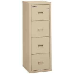 Good Turtle Fireproof 4 Drawer Vertical File Cabinet