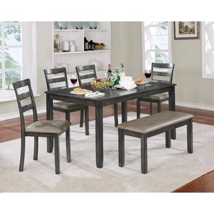 Dawkins 6 Piece Dining Set