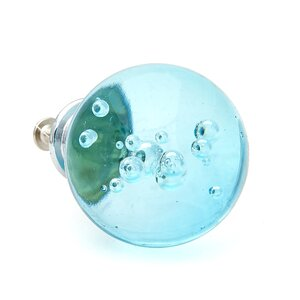 Bubble Glass Round Knob