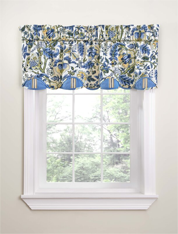 Waverly Imperial Dress Porcelain 50 Quot Curtain Valance