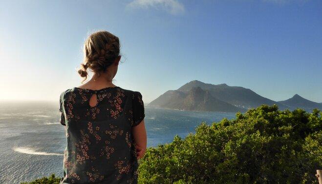 Küste in Südafrika