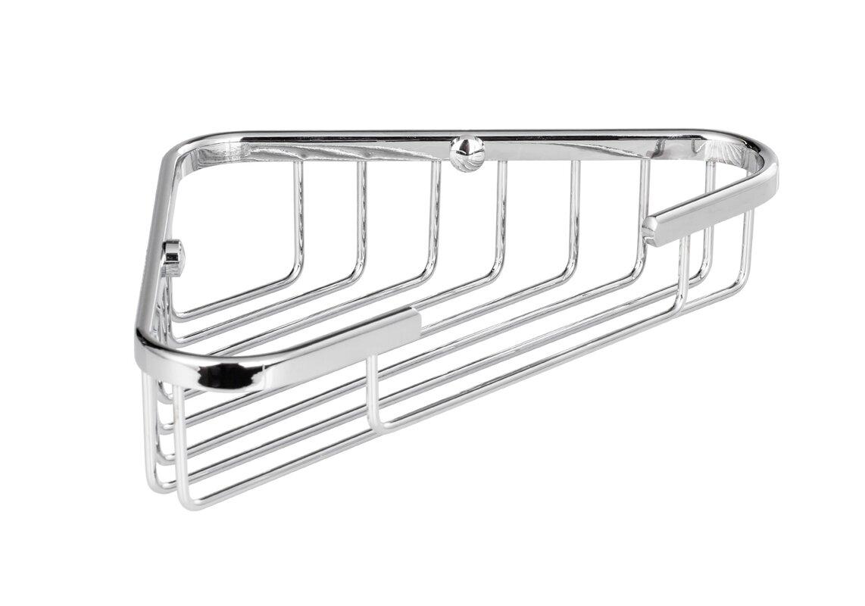 Rebrilliant Bilger Corner Wire Shower Basket & Reviews | Wayfair