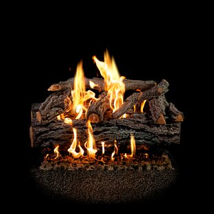 Four Seasons Discovery Elm Natural Gas Logs