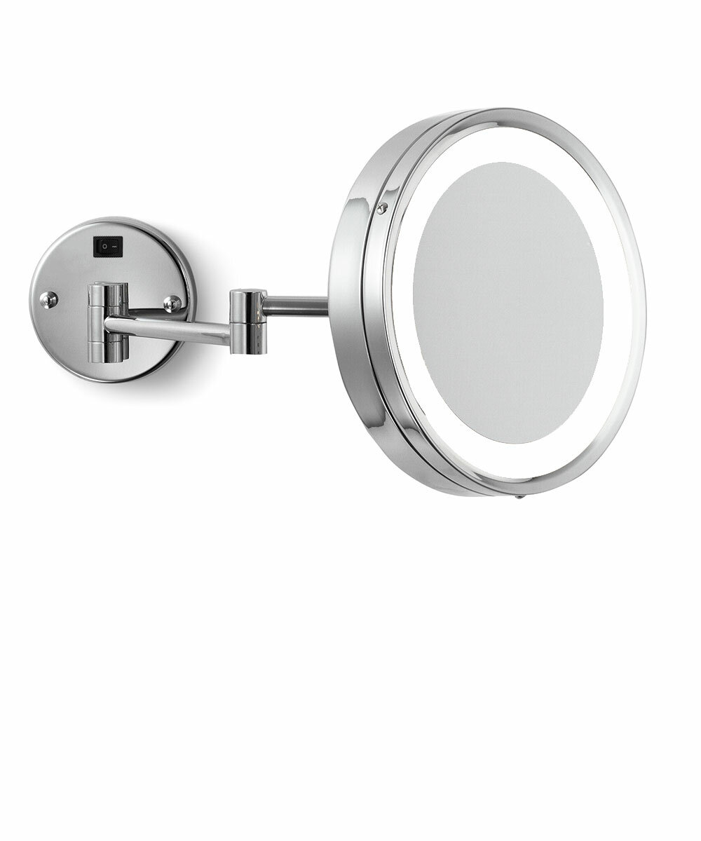 Blush Wall Mounted Lighted Makeup Mirror