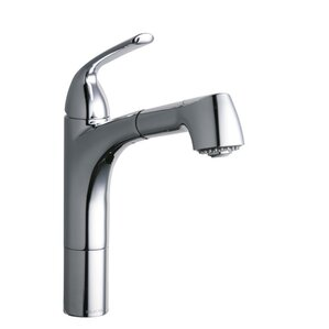 Elkay Gourmet Single Handle Pull Out Kitchen Faucet
