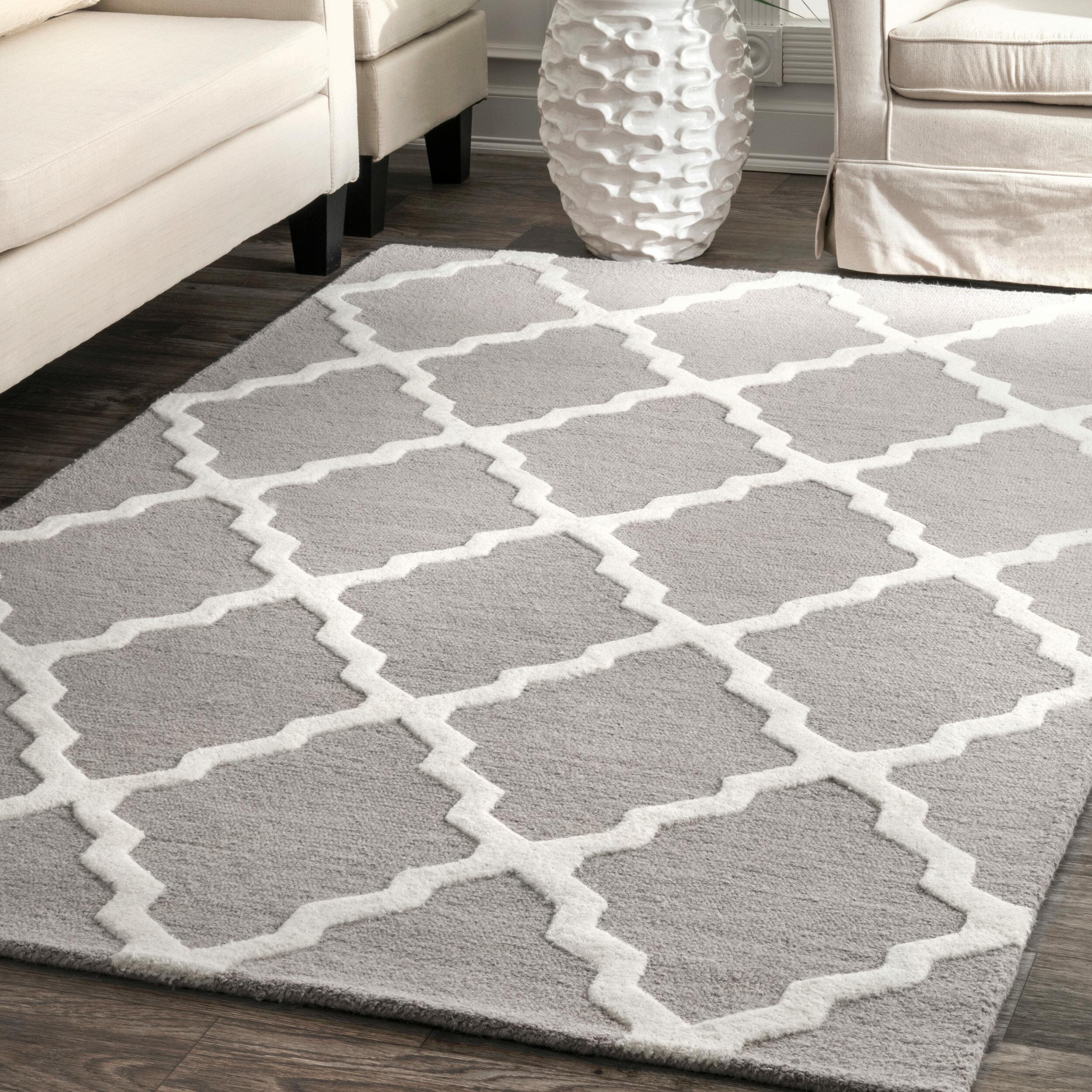 vintage product border tribal home trellis diamond grey rug traditional x nuloom inspired area garden