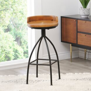 Roussillon Industrial 30 Swivel Bar Stool