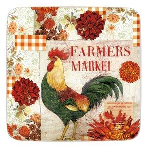 Farmers Market Melamine Square 10.5