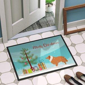 Collie Dog Door Mat