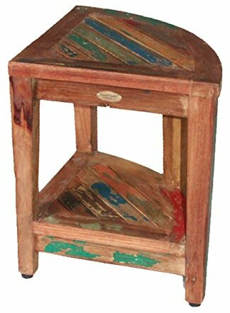 Exceptionnel Oasis Recycled Reclaimed Salvaged Boat Wood Corner Table Bench