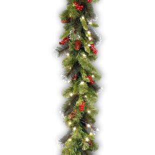 Christmas Garland With Led Lights