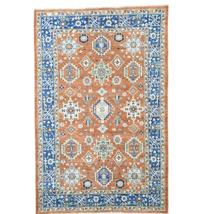 Burnt Orange And Blue Rug Wayfair