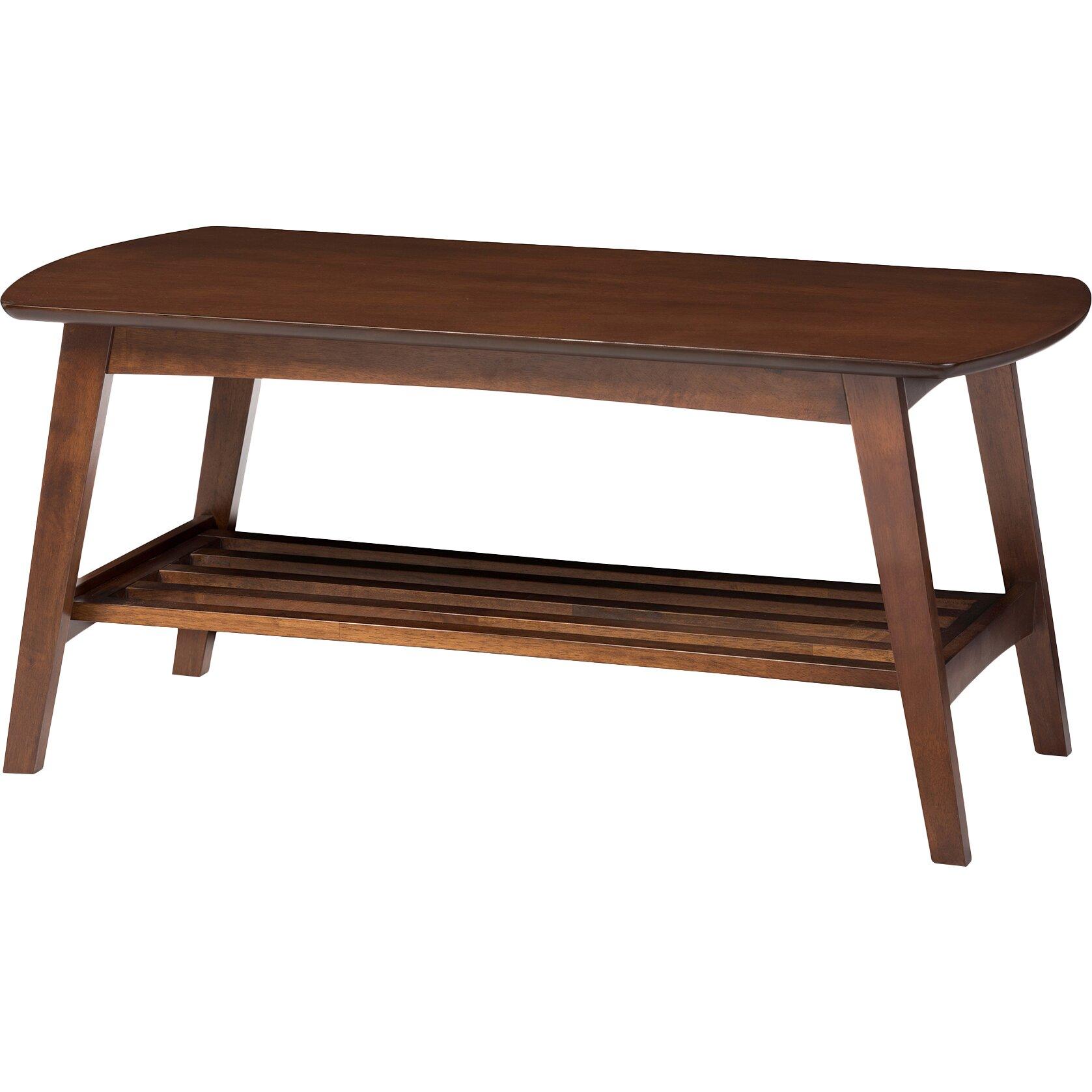 baxton studio sacramento coffee table reviews birch lane