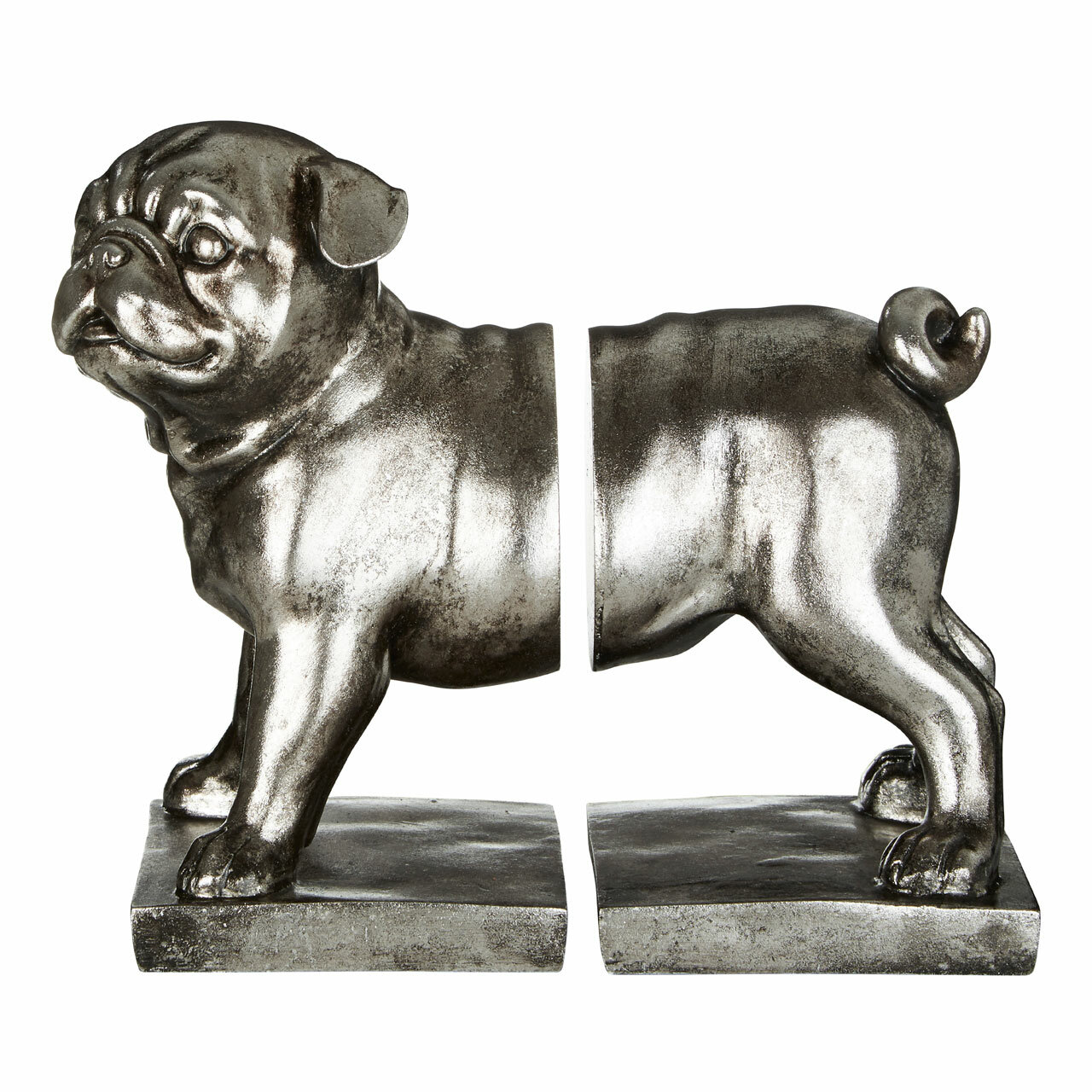 Pug Bookends (Set of 2)