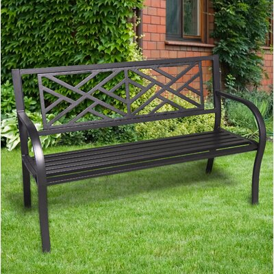 Banc De Jardin Metal. Cool Garden Bench Original Design Metal With ...