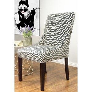 maleah upholstered dining chair set of 2