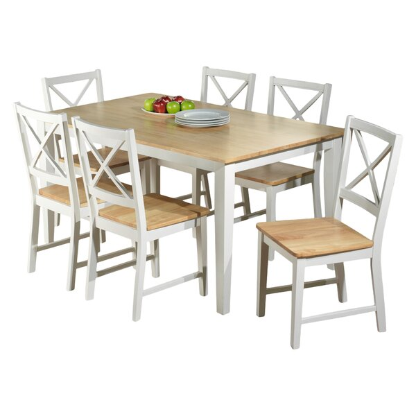 Beachcrest Home Lafayette 7 Piece Dining Set U0026 Reviews | Wayfair