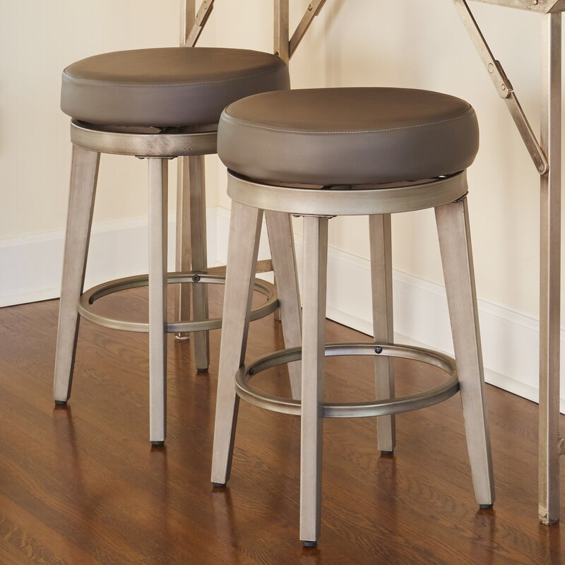 Angelo Home 24 5 Quot Swivel Bar Stool Amp Reviews Wayfair