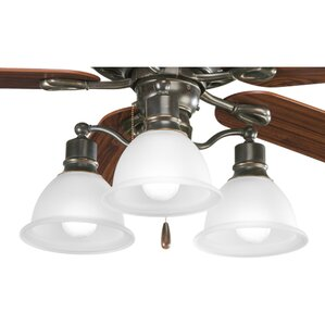 gradall 3light branched ceiling fan light kit - Ceiling Fan Light Kits
