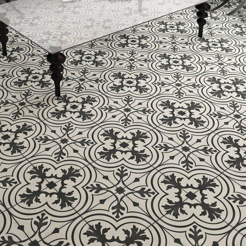 Elitetile Forties 775 X 775 Ceramic Field Tile In Vintage