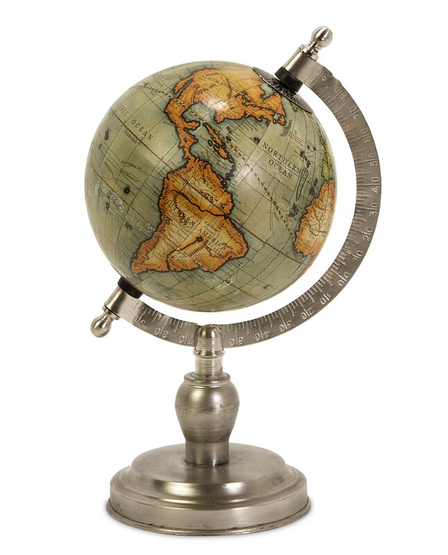Good Sinha Small Table Top Globe With Base