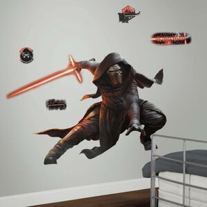 Star Wars Ep VII Kylo Ren P and S Giant Wall Decal