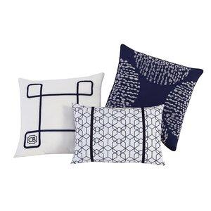 Fractal 3 Piece Pillow Set