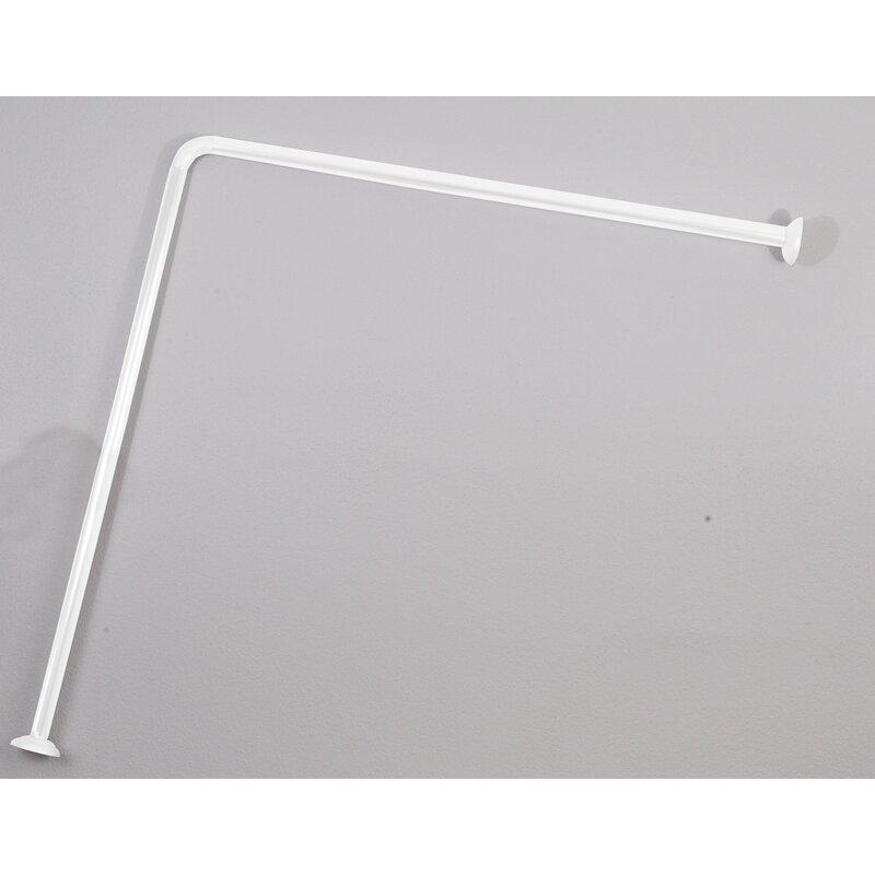 315 L Shaped Shower Curtain Enclosure