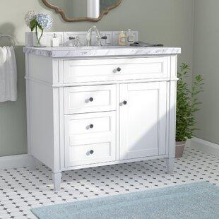 Narrow Depth Bathroom Vanity. Deleon Traditional 36  Single Burnished Mahogany Bathroom Vanity Set Narrow Depth Wayfair