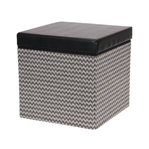Square Storage Ottoman by Household Essentials