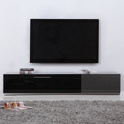 B-Modern Producer TV Stand for TVs up to 88 Color: Grey
