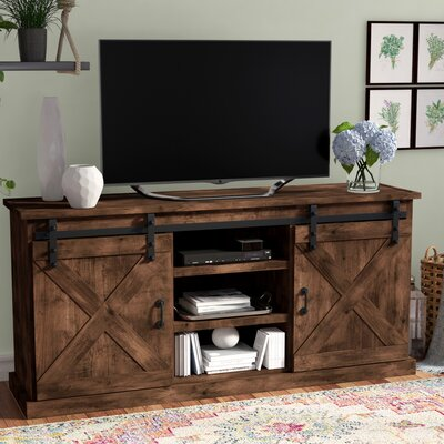Sliding Barn Door Tv Stand Wayfair